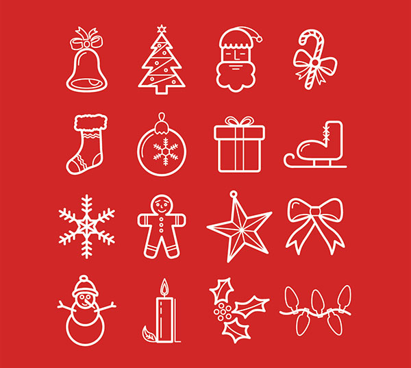 Free-Vector-Christmas-Icons-EPS-Ai