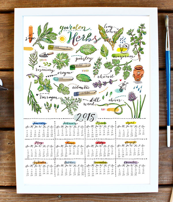 Herbs-Calendar-2015