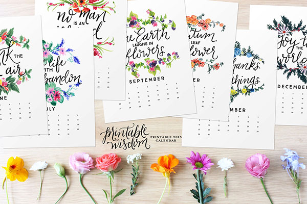 Calendar Inspirational : Get the best wall calendar of from beautiful options