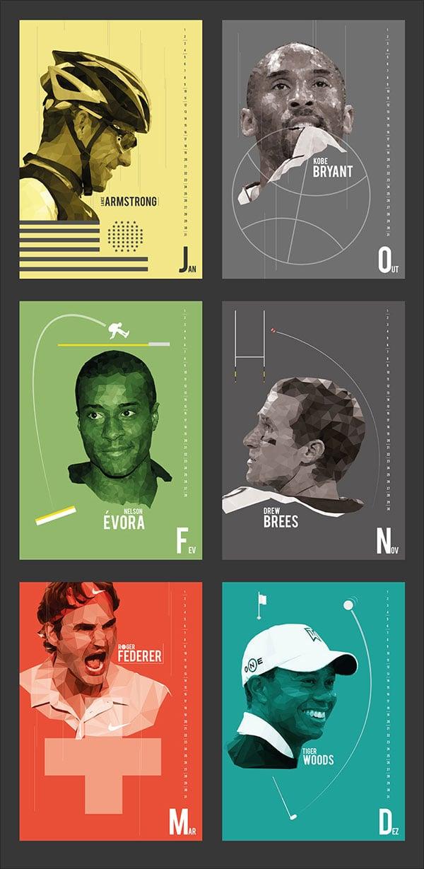 Low-Poly-Sports-Calendar-2015-1