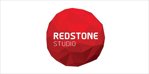 Redstone-Studio-Low-Poly-Logo-Design
