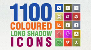 Super-Bundle-of-1100-High-Quality-Flat-Long-Shadow-Icons
