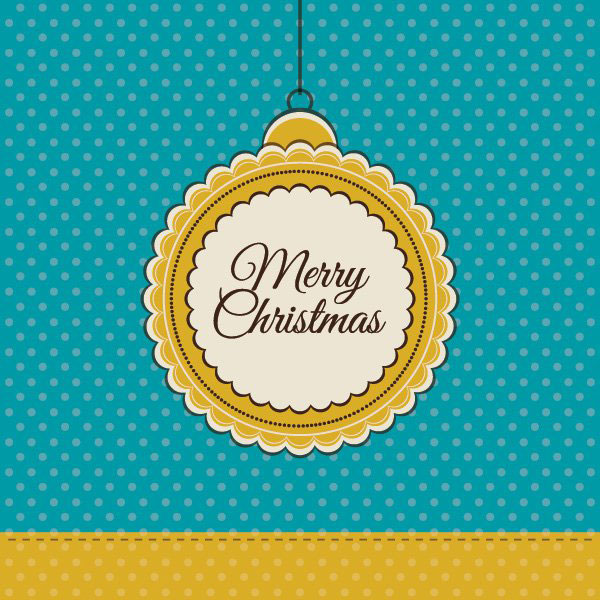 retro_christmas_card-Vector-free-download