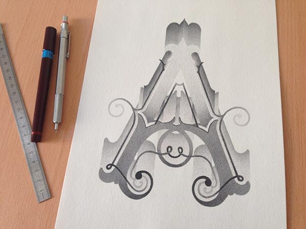 Amazing-Stippling-Art-Typography-&-illustrations (10)