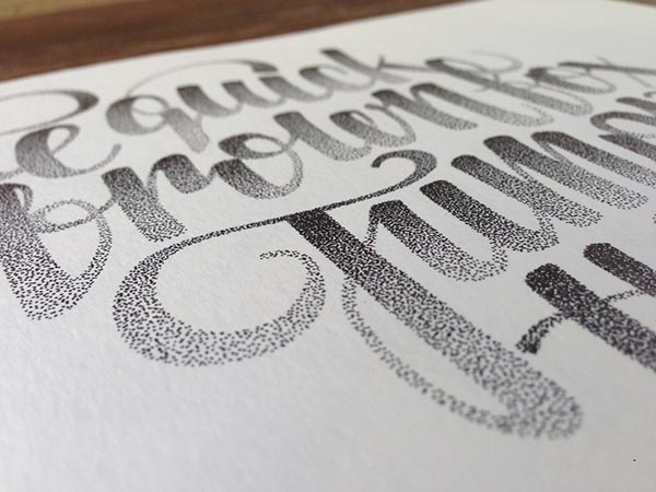 Amazing-Stippling-Art-Typography-&-illustrations (12)