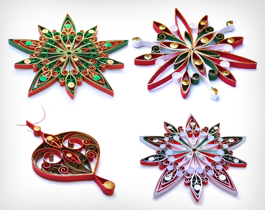 Creative-Paper-Christmas-Ornaments-2014