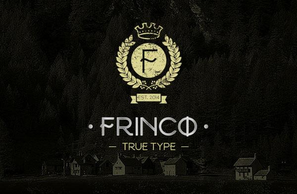 FRINCO-Stylish-Free-Font-2015