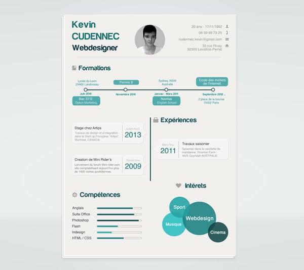 20 best free resume  cv  templates in ai  indesign  u0026 psd