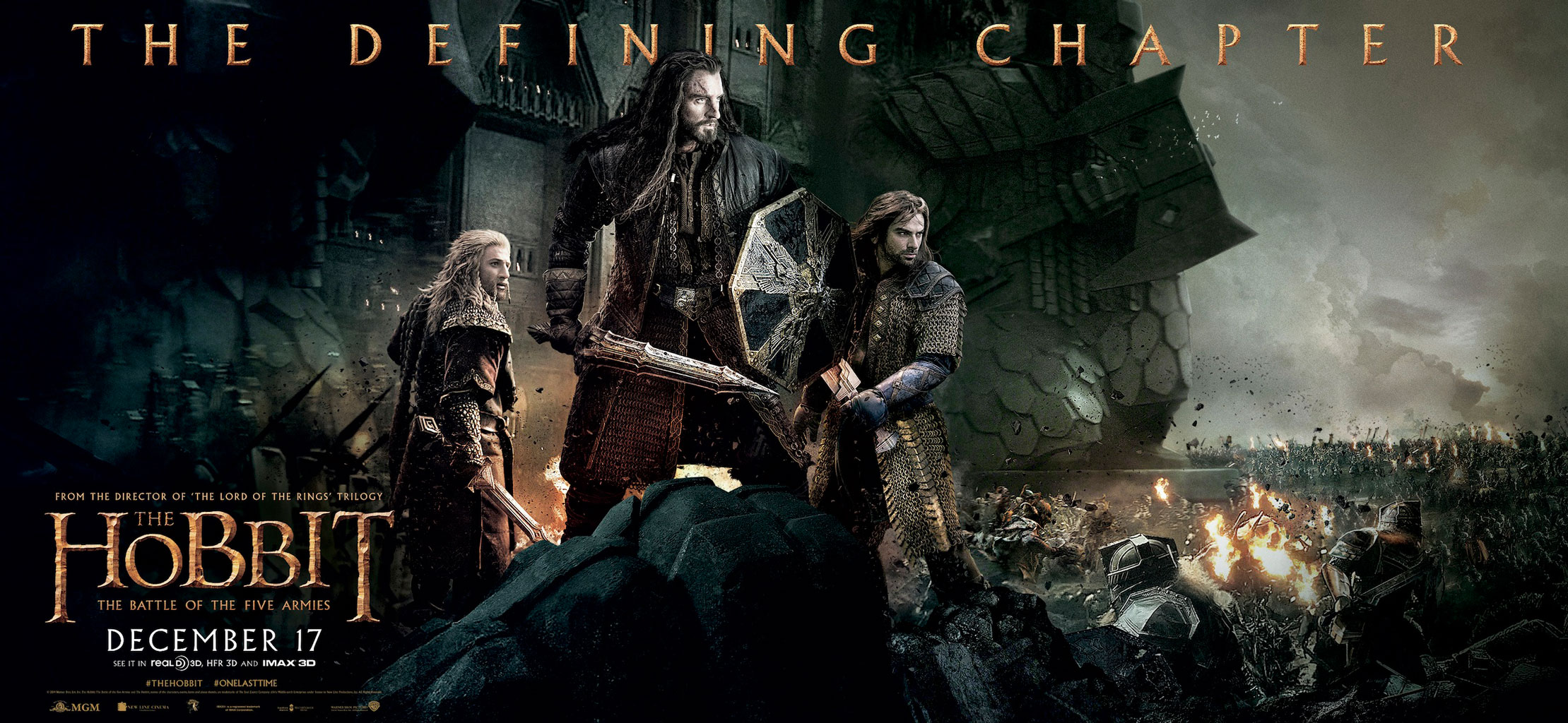 The Hobbit 3: The Battle of the Five Armies 2014 Movie & Smaug Desktop ... Necromancer Hobbit Desolation Of Smaug