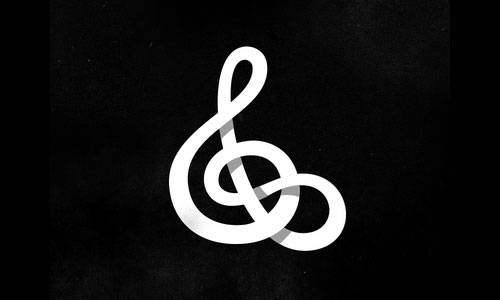 Infinite-Treble-Clef-Logo-design