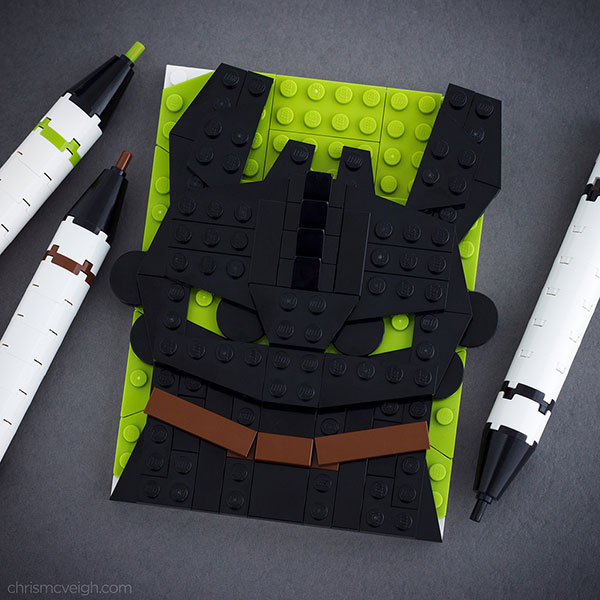 Lego-Toothless