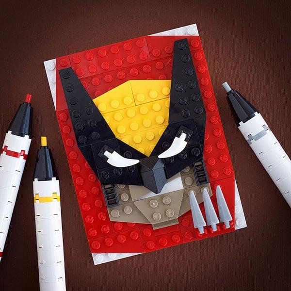 Lego-wolverine