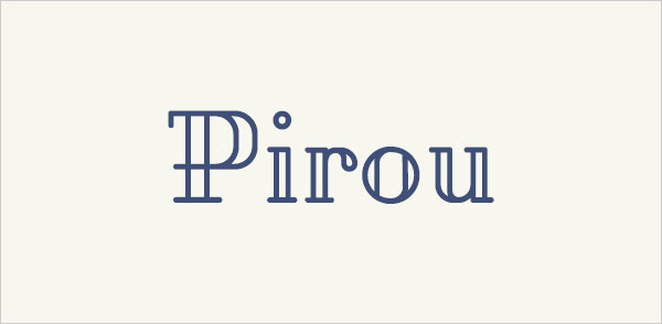 PIROU-Free-Font-2015