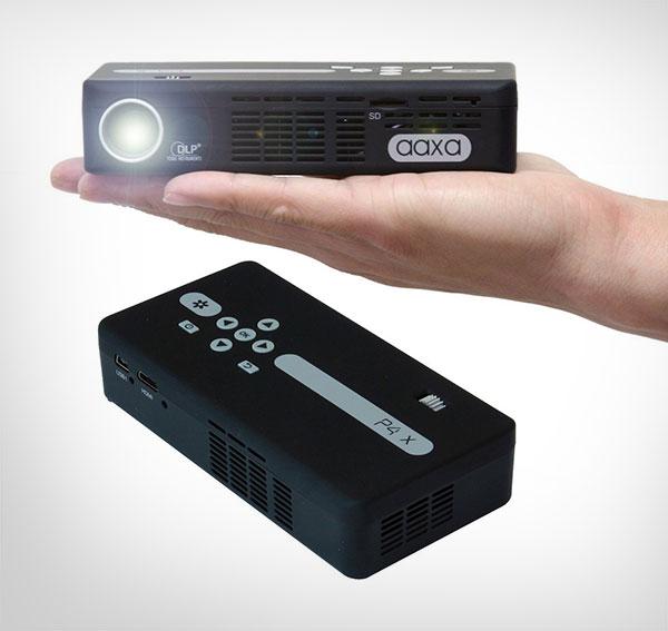 Pocket-Size-ProjectorAAXA-P4-P4X-Pico-125-Lumens,-Pocket-Size-Projector