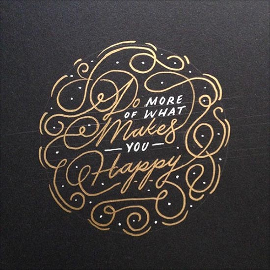 50 Beautiful Hand Drawn Lettering & Calligraphy Designs by