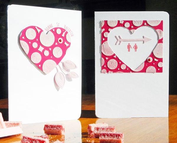 Cute Handmade Valentine S Day Card