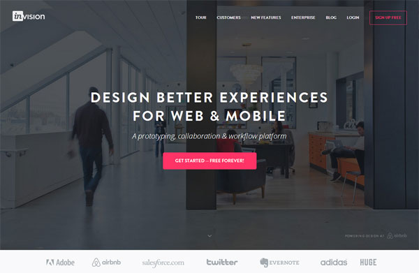 Invision-app-tools-for-web-designers