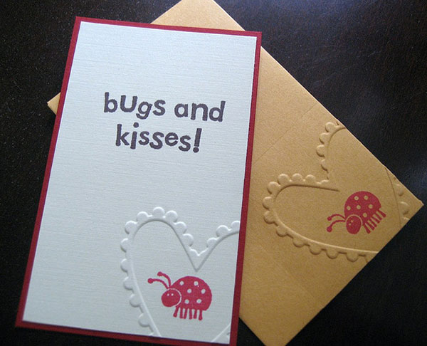 Kisses-card-design