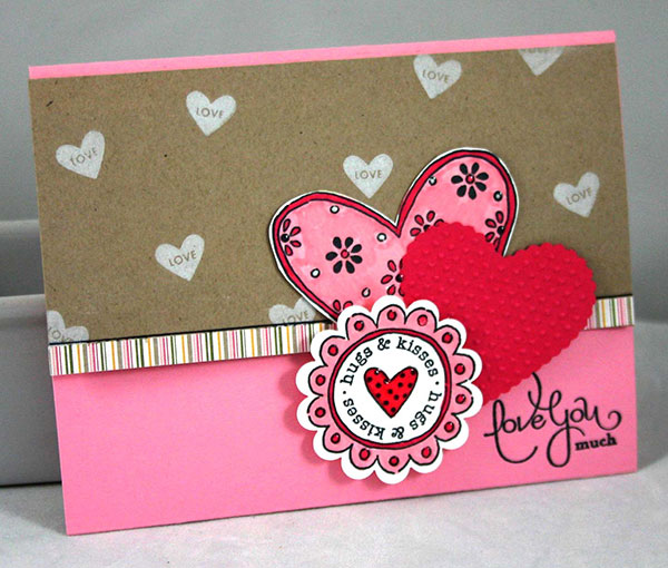 Love You Valentine Card Card Design on 2001 Mazda Protege Engine Diagram