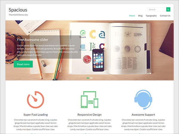Spacious-Free-Professional-business-Wordpress-Theme