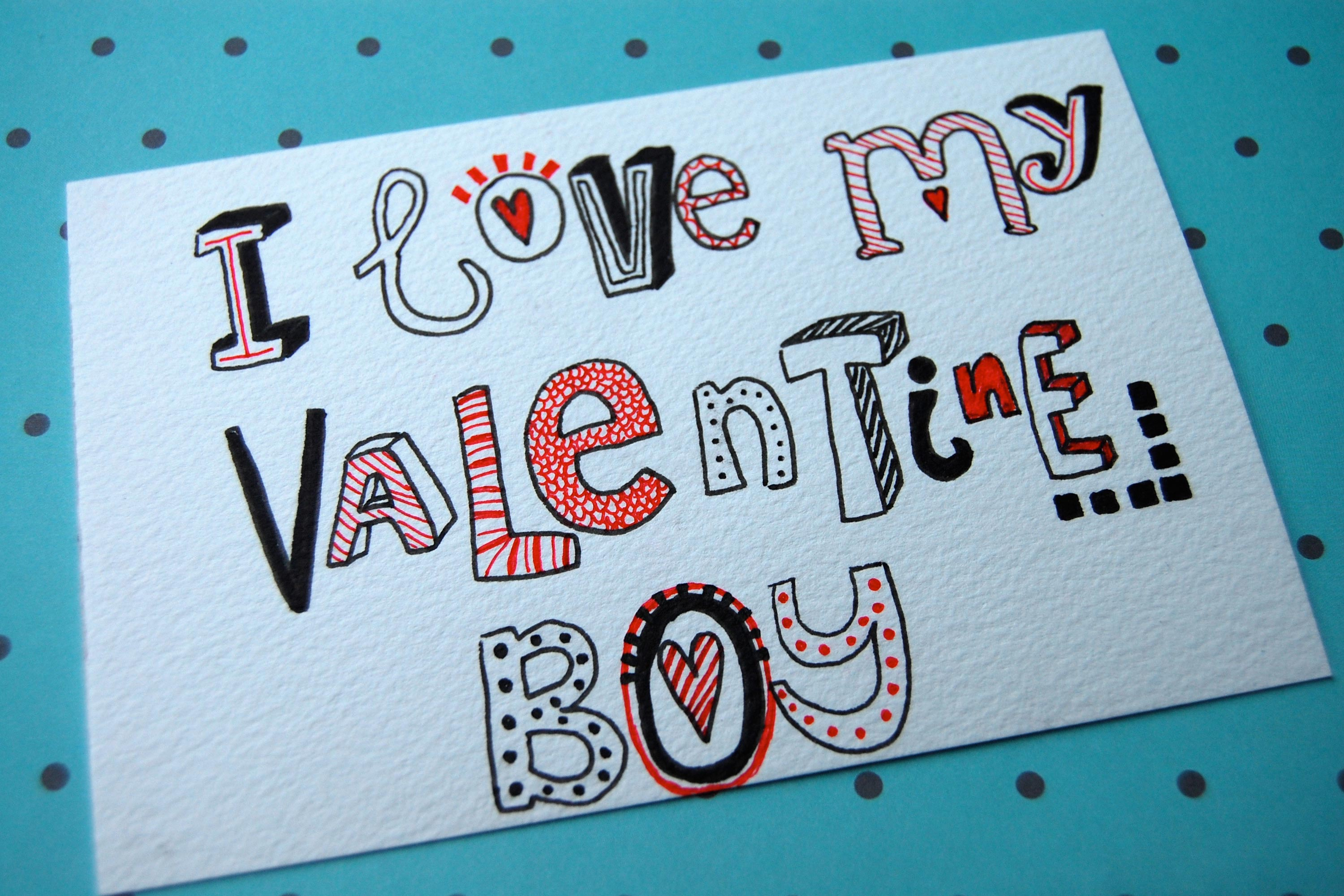 25 Beautiful Happy Valentines Day Love Card Ideas 2015 – Cute Valentine Cards Homemade