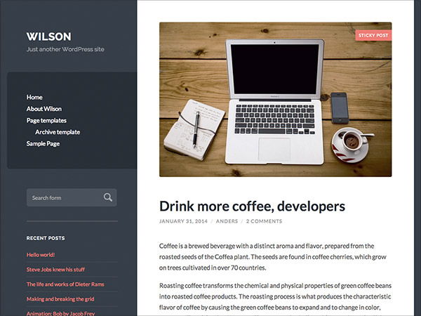 Wilson-Simple-responsive-wordpress-theme-2015