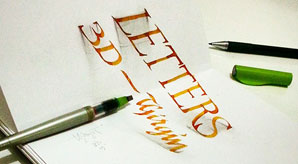 3D-Lettering-A-New-Trend-for-Calligraphers-&-Letterers