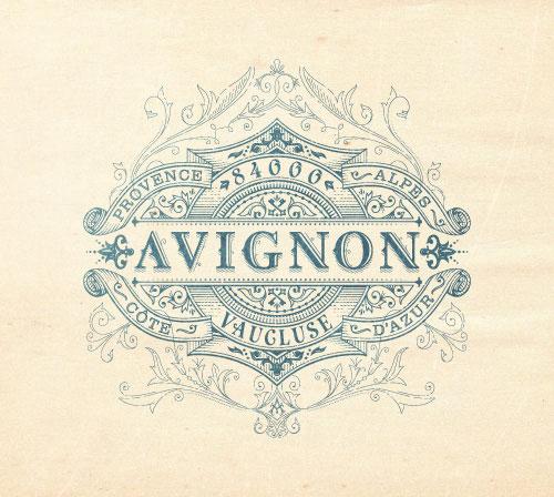 AVIGNON-Flourish-Logo-Design-Inspiration