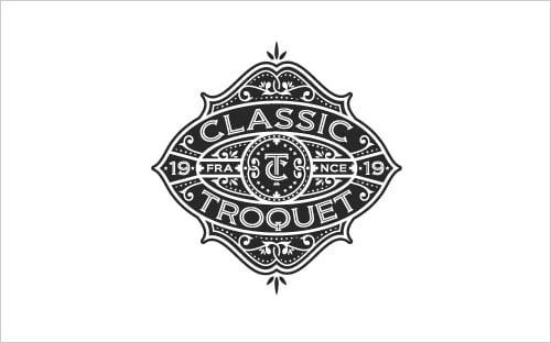 Classic-Troquet-Logo-design