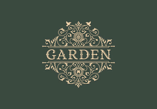 Decorated-garden-Logo-Design