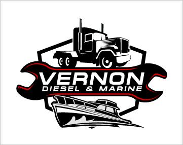 Diesel-Marine-Logo-Design