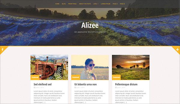 Free-Alizee-Theme
