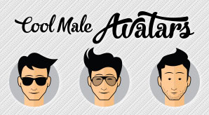 Free-Cool-Male-Avatars-Vector-Ai-PNGs-2
