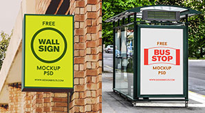 Free-High-Quality-Outdoor-Advertising-Mockup-PSD-Files
