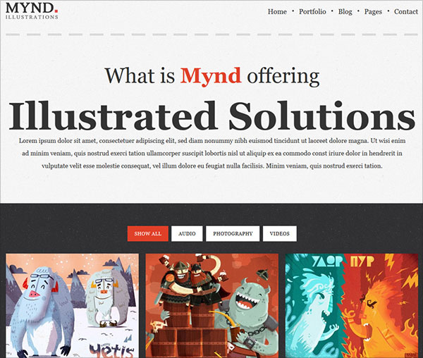 Free-MYND-Illustrations-Theme