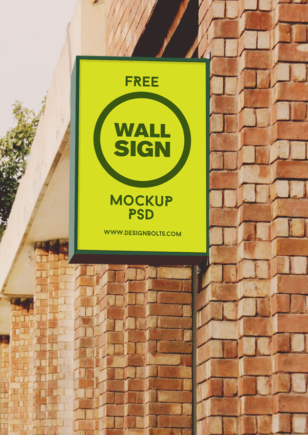 Free High Quality Outdoor Advertising Mockup Psd Files