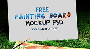 Free-Sketch-Book-and-Easel-Painting-Board-Mockup-PSD