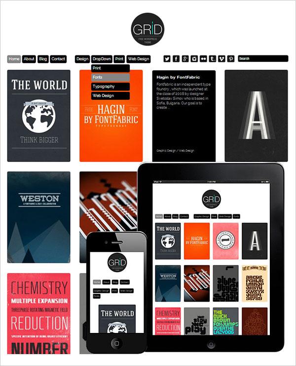 Grid-responsive-wp-theme-for-portfolio-websites