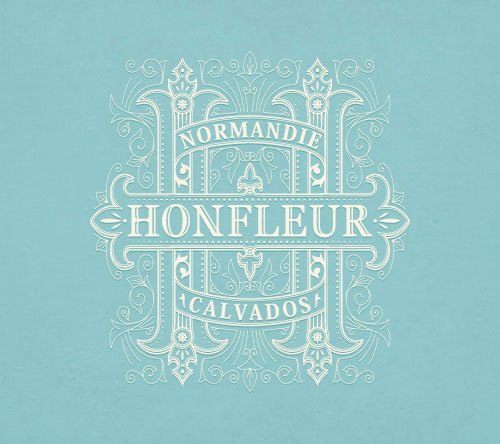 HONFLEUR-Decorated-Logo-Design-Example