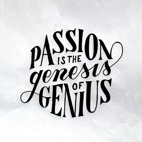 Hand Lettering With inspirational Sayings (24)