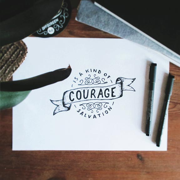 Hand Lettering With inspirational Sayings (31)