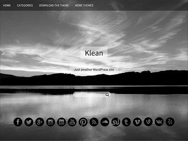Klean-Free-Simplistic-WordPress-theme-2015