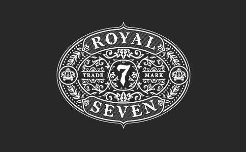 Royal-7-Decorated-Logo-Design-2015