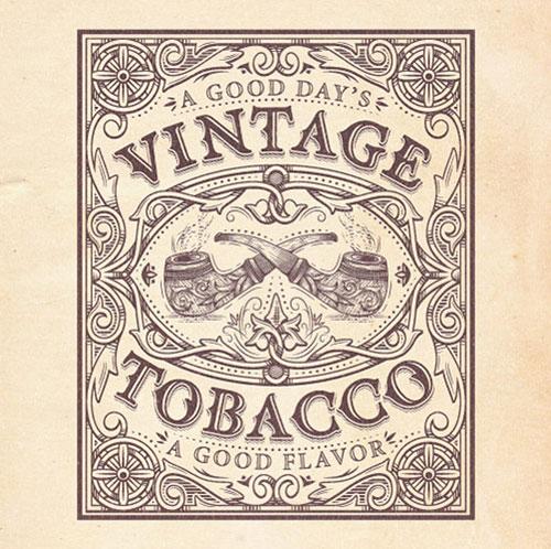 Vintage-Tobacco-Logo-Design