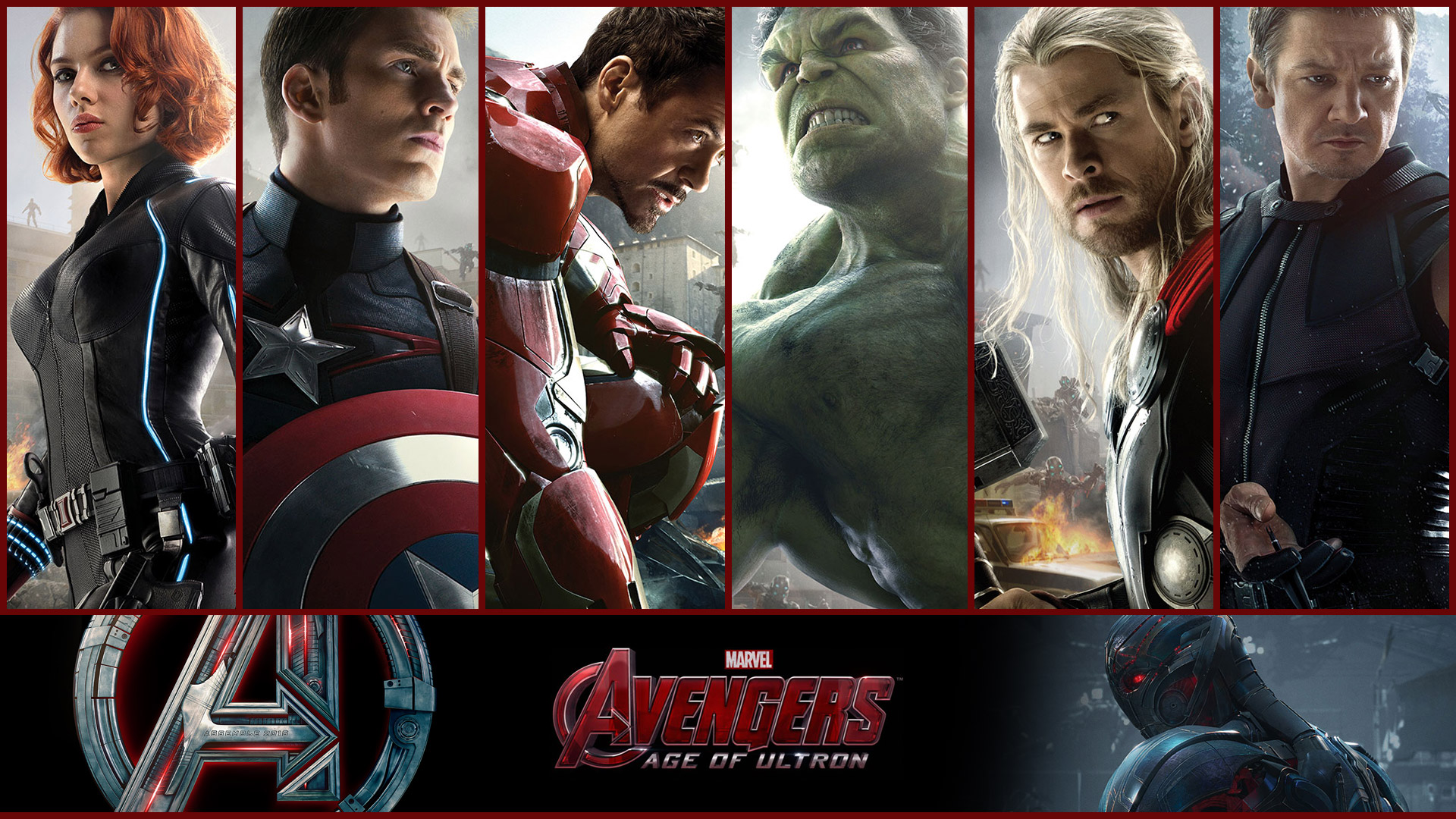 Avengers 2 Age Of Ultron 2015 Desktop Iphone 6 Wallpapers Hd