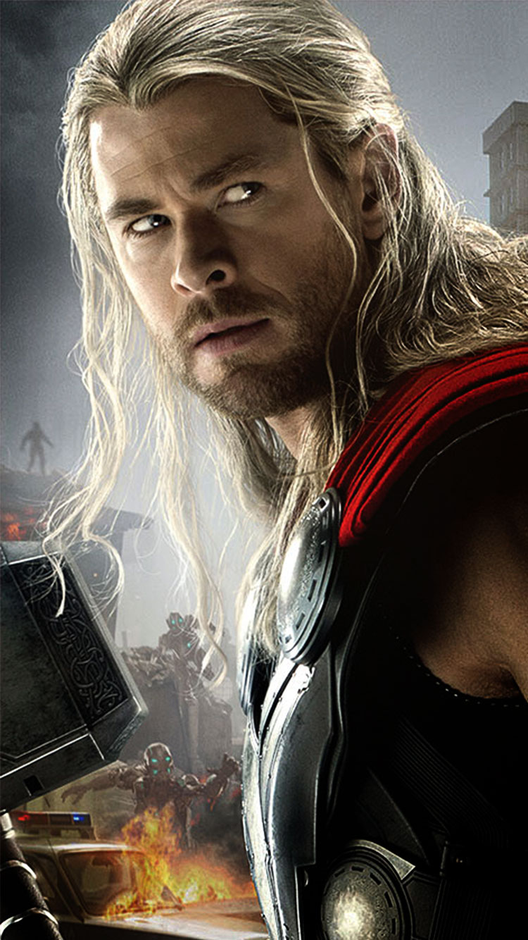 Avengers-2-Thor-iPhone-6-Wallpaper