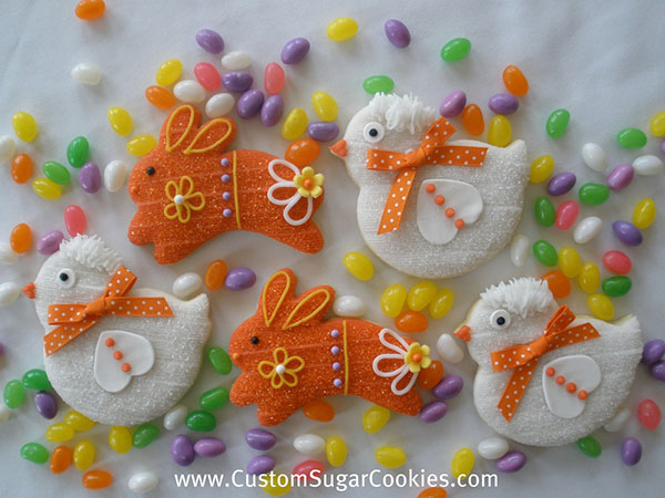 Easter-Bunnies-Chick-Cookies