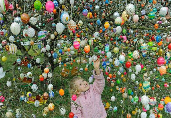 30 beautiful easter eggs designs decoration ideas bunny pictures 2015 - Decoration de paques ...