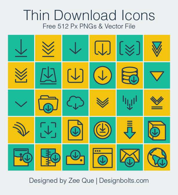 Free-Vector-Thin-Download-Icons-PNG-Vector-Ai
