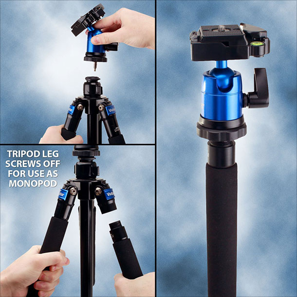 Magnesium-PRO-62-DSLR-Digital-Camera-Tripod-with-Detachable-Monopod-4